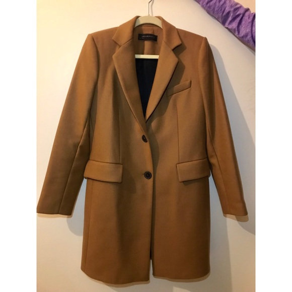 bdf43a45 Zara Camel Coat size M